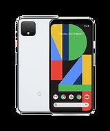 white google pixel 4