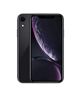 iPhone XR in black front and back
