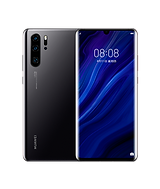 Black Huawei P30 Pro front and back