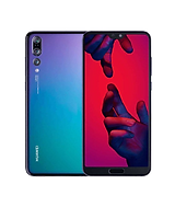 huawei P20 pro in blue and purple hues