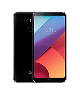 LG G6 smart phone front and back