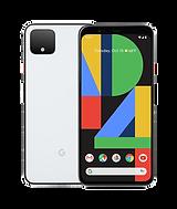 white google pixel 4 xl smart phone
