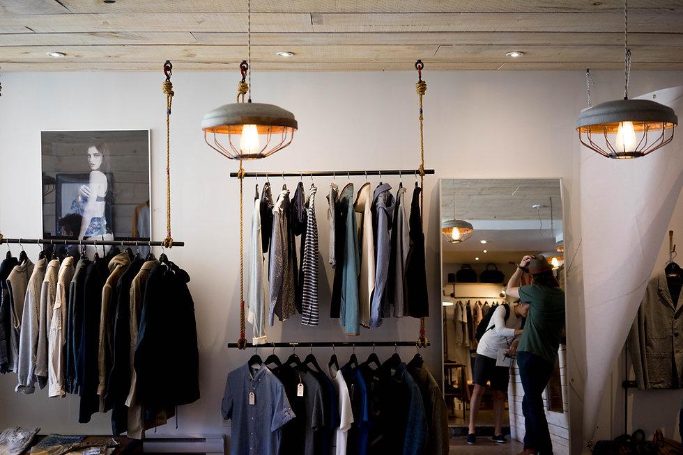 Hip negozio di abbigliamento