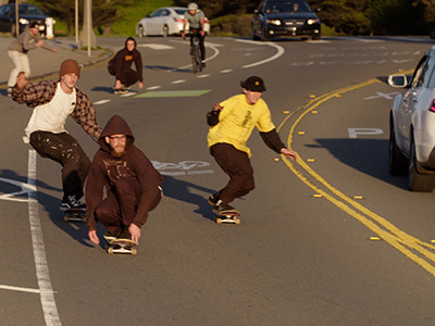 The Art of Bombing Hills in San Francisc