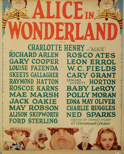 Alice in Wonderland - 1933