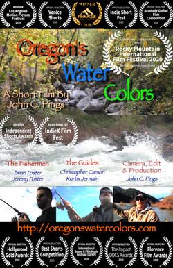 Oregon Water Colors