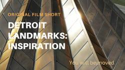 Detroit Landmarks Inspiration