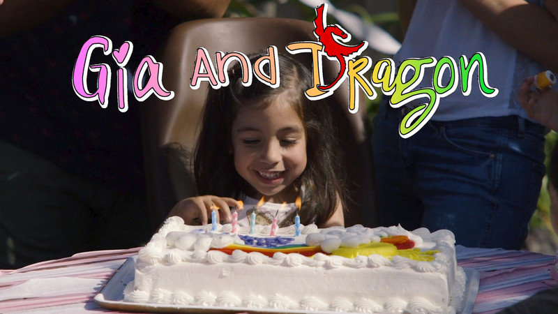 Gia and Dragon