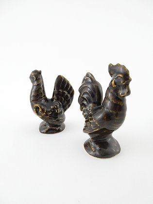 Rooster Chicken Pair