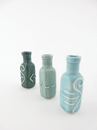 Small Carved Bottle
