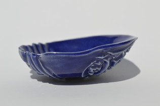 blue little bowl