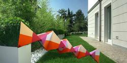 scultura fotoins giardino Accademia BA F
