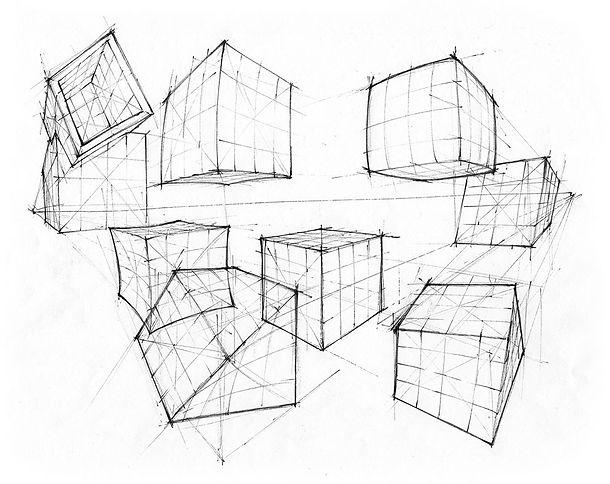 cubes-bulge-pucker etc-pen ink.jpg