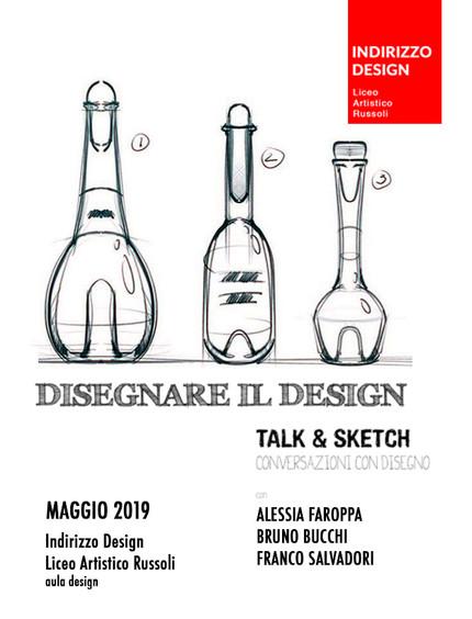 Disegnare il Design - Conversazioni con Disegno, scritto dal prof. Franco Salvadori | INFORMART