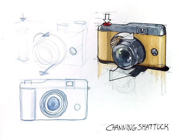 shattuck, channing-basic object study-ca