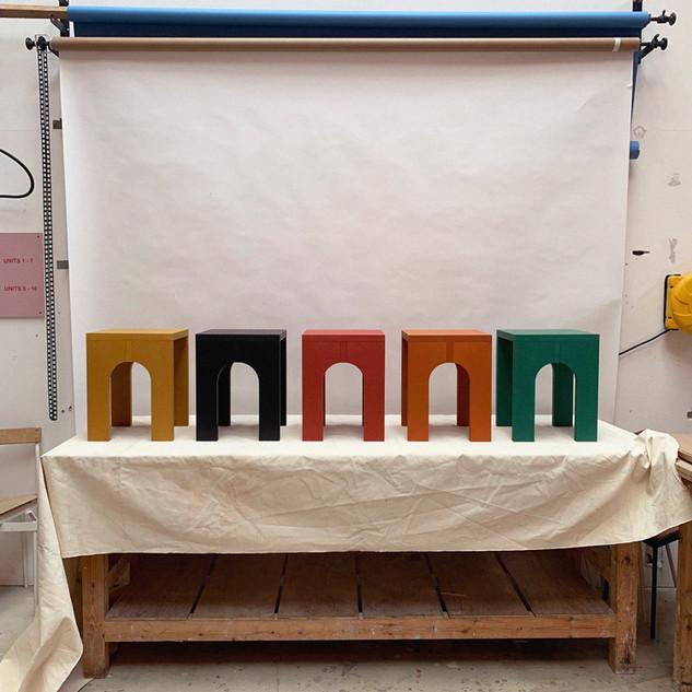 Archibaldo Stool/ Side Table