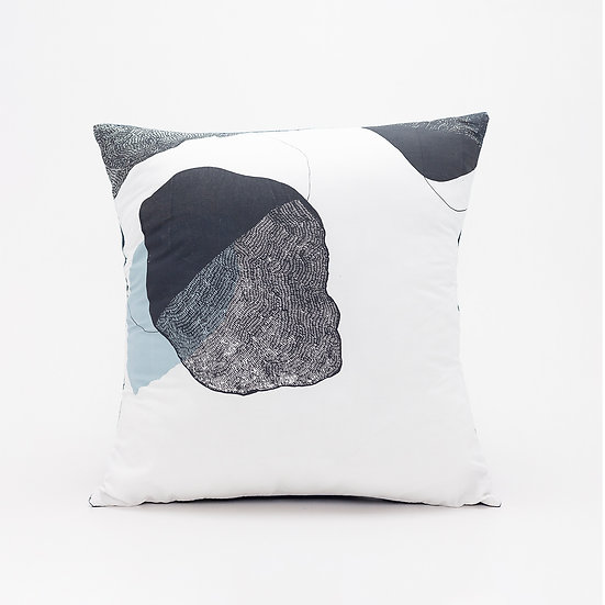 Trove Pillow  I  Navy Back