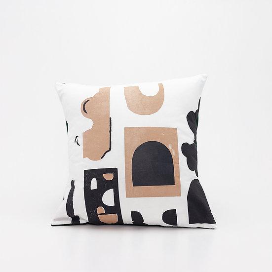 Shape Pillow  I  Green Back