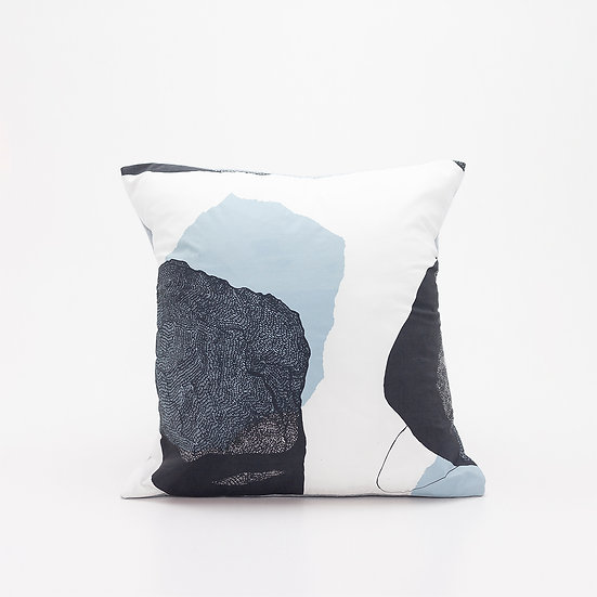 Trove Pillow  I  Pale Blue Back
