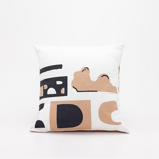 Shape Pillow  I  Rust Back