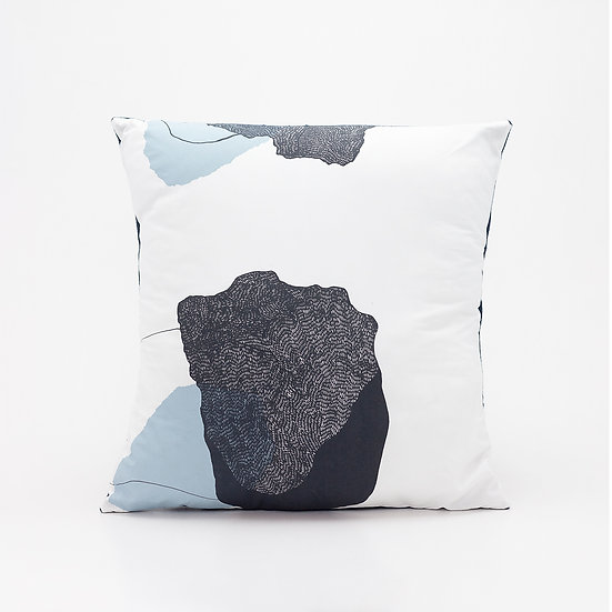 Trove Pillow  I  Navy Back