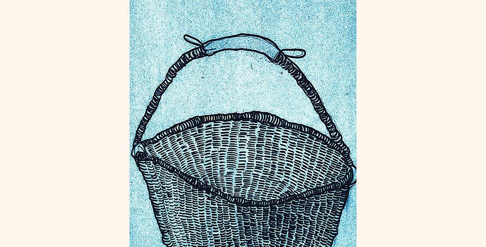 Basket in Blue