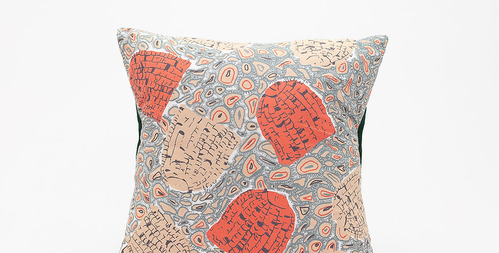 Collaborate Pillow  I  Green Back