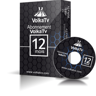 Volka TV Pro 2 / 12 mois abonnement iptv SD/ HD /Full HD