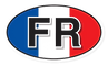 france-FR-flag-country-code-oval-bumper-