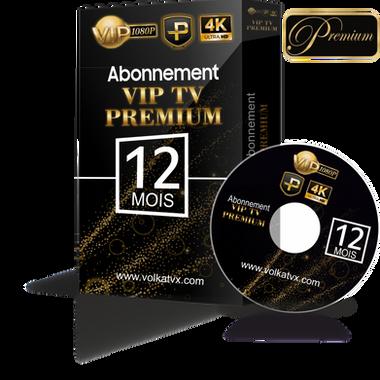 Vip tv premium / 12 mois abonnement iptv Full HD / 4K
