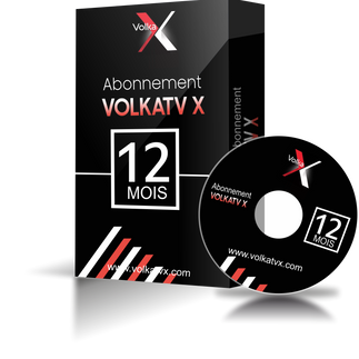 Volka TV X / 12 mois abonnement iptv Full HD / 4K