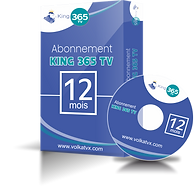 Abonnement IPTV King 365 TV Full HD