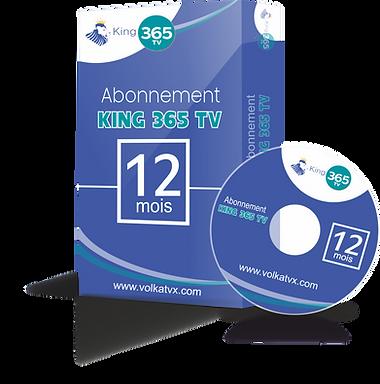 Abonnement IPTV King 365 TV Full HD