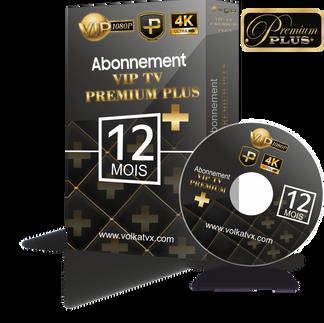 Vip tv premium plus / 12 mois abonnement iptv Full HD / 4K