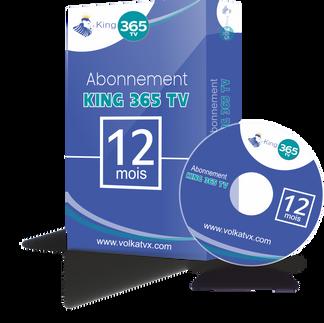 King 365 TV / 12 mois abonnement iptv Full HD / 4K