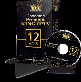 Abonnement iptv Premium King FHD / 4K / Replay