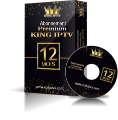 PREMIUM KING | 12 MOIS  |  4K & FULL HD   |  REPLAY  |  ZAPPING RAPIDE  | VPN COMPATIBLE