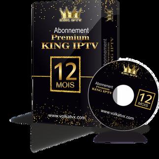 Premium king 12 mois abonnement iptv Full HD / 4K