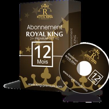 Royal king ott / 12 mois abonnement iptv Full HD / 4K