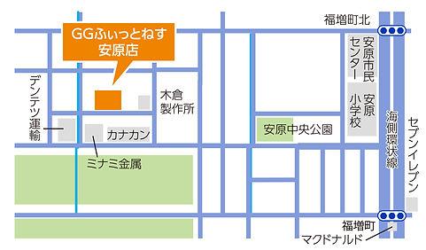 安原店地図