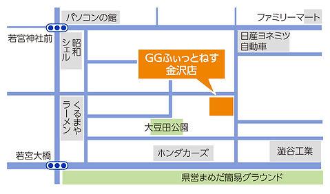 金沢店地図