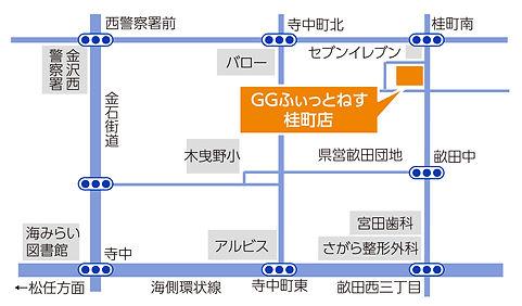 桂町店地図