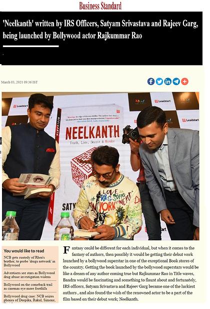 neelkanth - news article - business stan