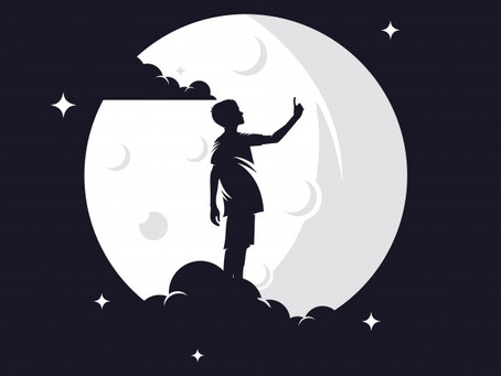 A TALK WITH THE MOON