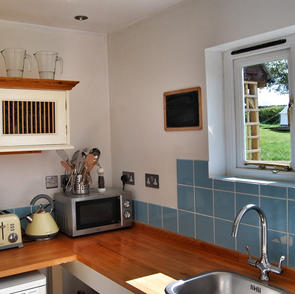 The Small But Well Equipped Kitchen