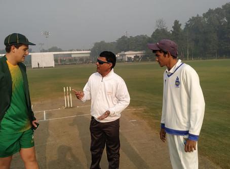 Calm and Affectionate Boss of Corporate Cricket: DDCA Umpire Rahman Saifi