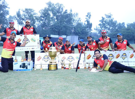 Cricketers are immortal that's why we have Team Ashu Warrior