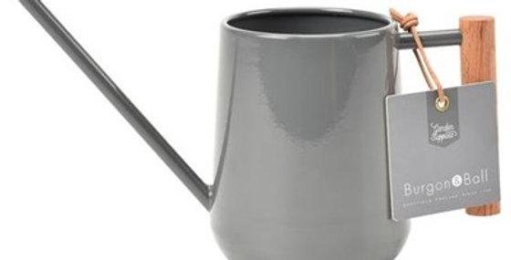 Burgon & Ball Indoor Watering Can - charcoal