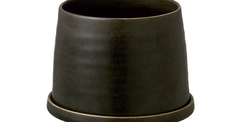 KINTO - Plant Pot - black