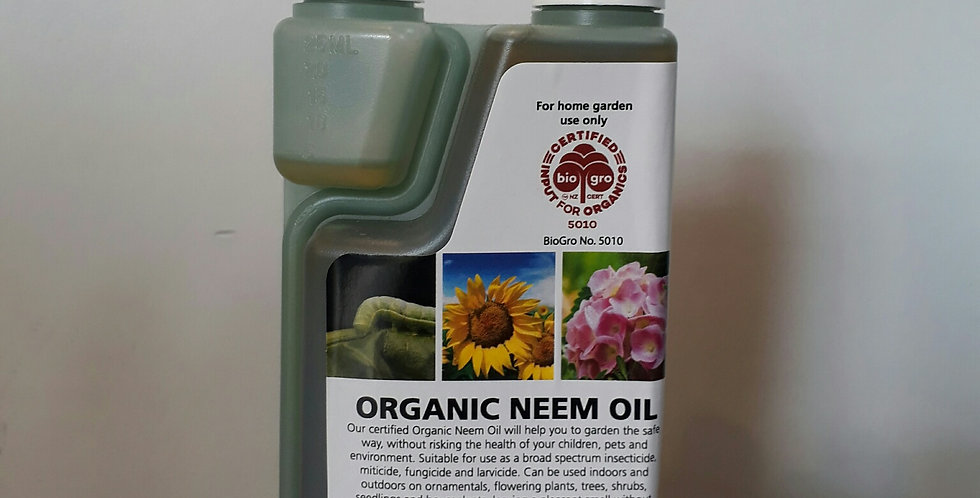 Organic Neem Oil - Oakdale Organics